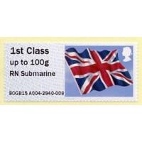 2015. IAR - Imprint 'RN Submarine'