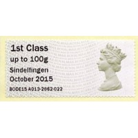 2015. IAR - Imprint 'Sindelfingen October 2015'