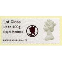 2015. IAR - Impresión 'Royal Marines' + logo