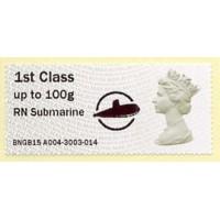 2015. IAR - Imprint 'RN Submarine' + logo