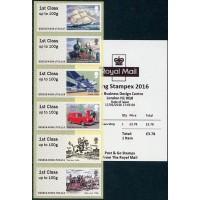 2016. Post & Go - Royal Mail Heritage - Transport