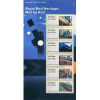 2017. Royal Mail Heritage: Mail by Rail