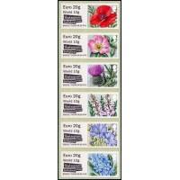 2017. British flora (II) - Symbolic flowers