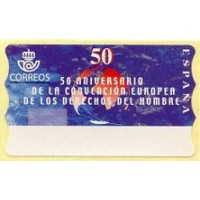 50. 50 Aniversario Convención Europea Derechos Hombre