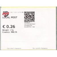 2012-2017. Variable value stamps (postal kiosk)