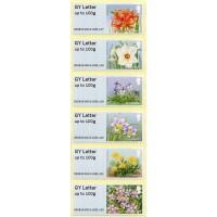 2018- ... Post & Go - Guernsey Bailiwick flowers