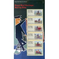2018. Royal Mail Heritage: Mail by Bike (Correo por bicicleta)