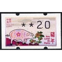 2019. Ano Lunar do Porco (Lunar Year of the Pig)