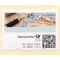 2019. Sending letters (Automatenmarken ATM Briefe schreiben) - New experimental kiosk