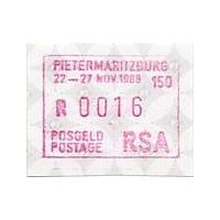 1988. PIETERMARITZBURG 150 - 22-27 Nov. 1988