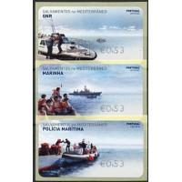 2020. Salvamentos no Mediterrâneo (Rescue in the Mediterranean)