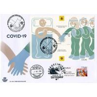 2020. SPAIN - Agradecimiento COVID-19 (ATM & souvenir sheet)