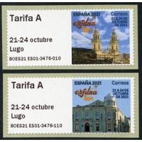 2021. 03. 59 EXFILNA Lugo 2021 (National Stamp Exhibition) - 21 a 24 de octubre de 2021