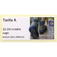2021. 04. XACOBEO 2021 (Holy Year) - Special edition, imprint '21-24 octubre Lugo'