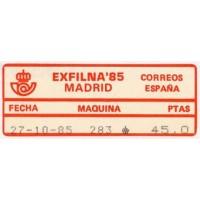 Emisiones 1985 - 1986