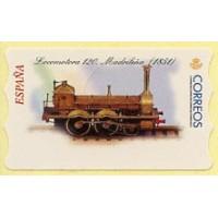 51. Locomotora 120, Madrileña (1851) (Steam locomotive)