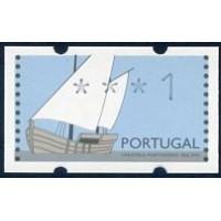 1992. Caravela portuguesa séc XVI (1st imprint)