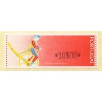 1992. Ciclista, brinquedo popular (Ciclista, juguete popular)