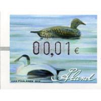 2012. Wooden duck decoys (1). Eider duck