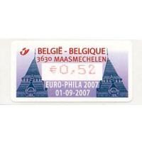 2007. EURO-PHILA 2007 - Maasmechelen