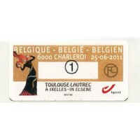 2011. Toulouse-Lautrec à Ixelles - in Elsene - 6000 Charleroi
