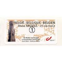 2012. De Markt van Brugge - La Grand-Place de Bruges