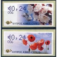 2008. Spring (Apricot flower & poppy) (EUR)
