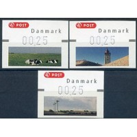 2006. Denmark images (3) - cows, lighthouse & wind mills