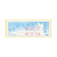 1999. Básica Pájaros (FRF+EUR)