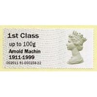 2011. Hytech - Special imprint 'Arnold Machin 1911-1999'