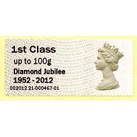 2012. Hytech - Special imprint 'Diamond Jubilee 1952-2012'