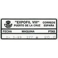 1980 - 1993. Etiquetas postales