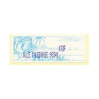 2003. Tropical landscape - Text NLLE CALEDONIE - Violet imprint