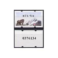 2005. Formosa Black Bear (2) - Back control number