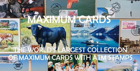 Maximum cards with ATM stamps