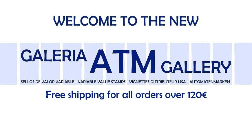 Welcome to the new GALERIA ATM GALLERY. Free shipping for all orders over 120€