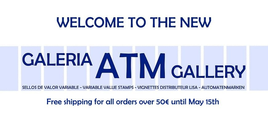 Welcome to the new GALERIA ATM GALLERY. Free shipping for all orders over 50€, until May 15th