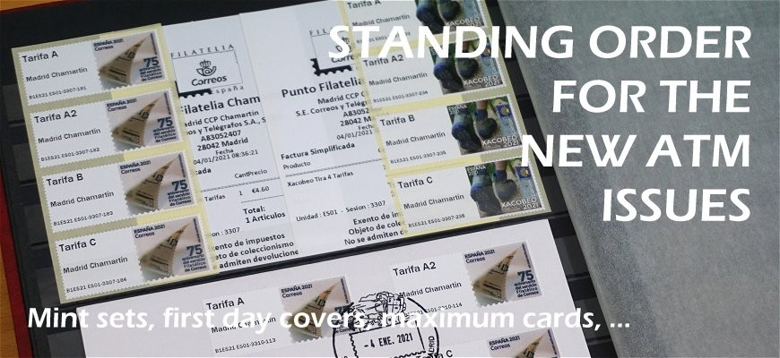 Standing order for the new ATM issues