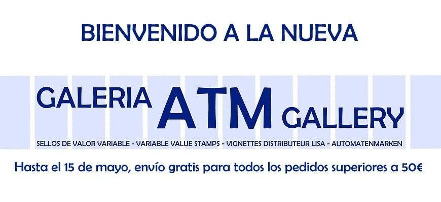 Bienvenido a la nueva GALERIA ATM. Hasta el 15 de mayo, envío gratis para todos los pedidos superiores a 50€